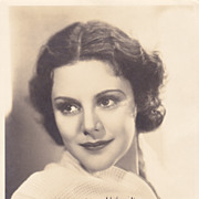 Helen Mack Authentic Vintage 1933 Signed Autograph Photo
