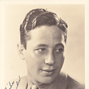 Ross Alexander Authentic Vintage 1936 Signed Autograph Photo - Extremely Rare