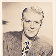 Nelson Eddy Authentic Vintage 1930s Signed Autograph Photo