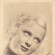 Mary Carlisle Authentic Vintage 1930s Signed Autograph Photo