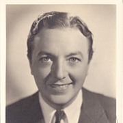Jack Haley Authentic Vintage 1936 Signed Autograph Photo