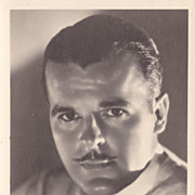 Neil Hamilton Authentic Vintage 1930s Signed Autograph Photo