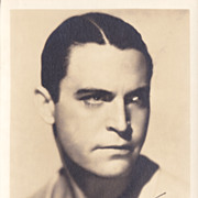 Chester Morris Authentic Vintage 1934 Signed Autograph Photo
