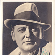 Edward Arnold Authentic Vintage 1936 Signed Autograph Photo