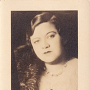Mildred Bailey Authentic Vintage 1930s Signed Autograph Photo...Rare