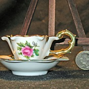 Adorable Vintage Miniature Cup & Saucer