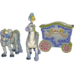 California Pottery Circus Wagon Horses by Freeman Leidy