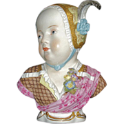 Meissen Kinderbust; Prince Louis Charles de Bourbon