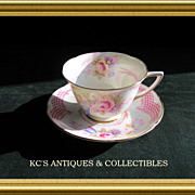 Royal Doulton Old Chelsea Rose Flower Cup & Saucer