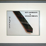 Skinny Tie by Wembley with diagonal stripes, from around the 1960�s