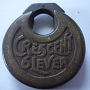 Crescent 6 Lever Push Key Lock