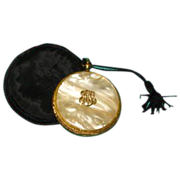 Estee  Lauder Compact Pocket Watch Style