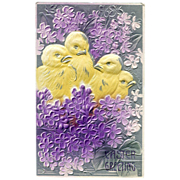 Embossed  Easter Greeting
