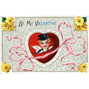 Be My Valentine Postcard