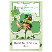 A Happy St. Patrick's Day To You Postcard