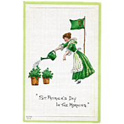 St. Patrick's Day in The Morning Postcard