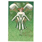 St. Patrick's Day Postcard to Miss Maude Humphrey