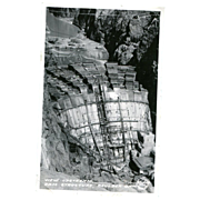 Boulder Dam Real Photo Post Card