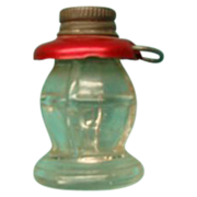 Tiny Railroad Lantern Candy Container