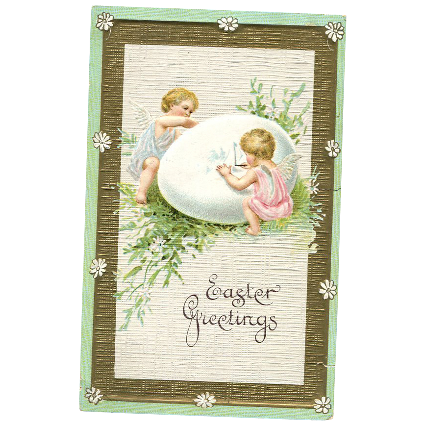 Easter Greetings Putti's