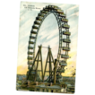 Paris La Grande Roue C. M. Post Card Real Photo LG Ferris Wheel