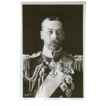 H.M. King George V Real Photo Post Card  Military Metals