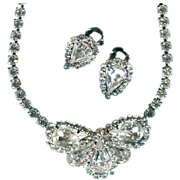 Weiss Demi Parure Choker & Earrings