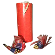 Made in Japan Firecracker full of American  Flags