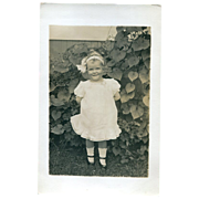 Real Photo Post Card Child