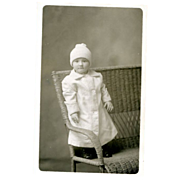 Studio Photo  Child RPPC