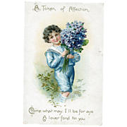 Token of Affection Postcard