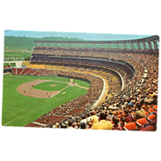 San Diego Stadium Real Photo Postcard