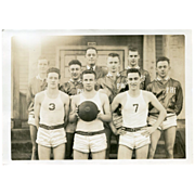 Real Photo Basketball Team