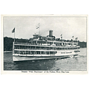 "Steamer ""Peter Stuyvesant"" of the Hudson River Day Line Post Card"