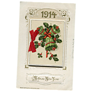 1914 Calendar Postcard