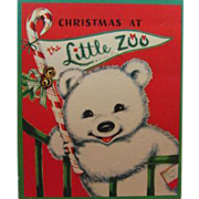 Vintage Boxed Book Christmas at The Little Zoo Charlot Byi