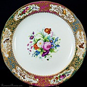 SOLD Antique Russian Imperial Palace Porcelain Platter c.1835