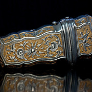 Antique Etui Russian Tula Steel c. 1750