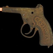 Vintage 1911 National TG-21 Cast Iron Toy Cap Gun