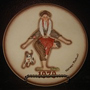 "SALE Collector Plate - Norman Rockwell- ""Leap Frog""  Dave Grossman Design Collection"