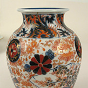 Fukagawa Koransha Signed Japanese Porcelain Imari Vase - Nice!