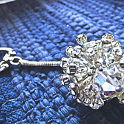 SALE PENDING 1950s Sparkling Rhinestone Key-chain for your Car Keys
