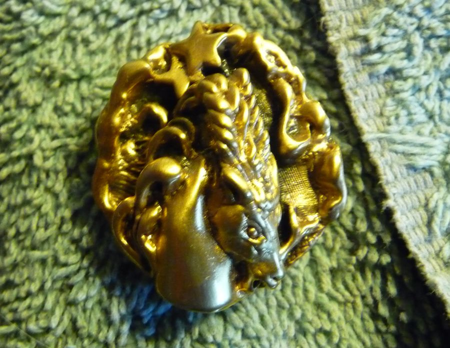 Vintage Highly Collectible Capricorn Pin from the Tortolani Zodiac Series