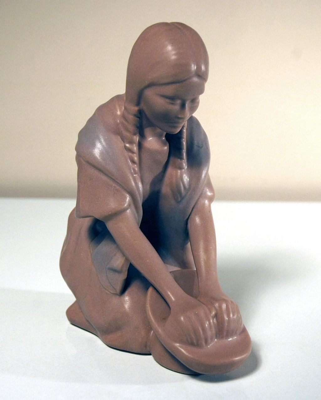 Van Briggle Pottery Hopi Maiden Figure
