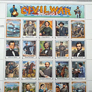 REDUCED Civil War Postage stamps