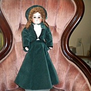 REDUCED Columbia Bisque Head Doll