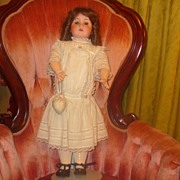 REDUCED Bisque doll