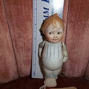 REDUCED All Bisque Doll