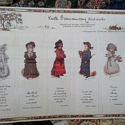 REDUCED Kate Greenaway bookmarks