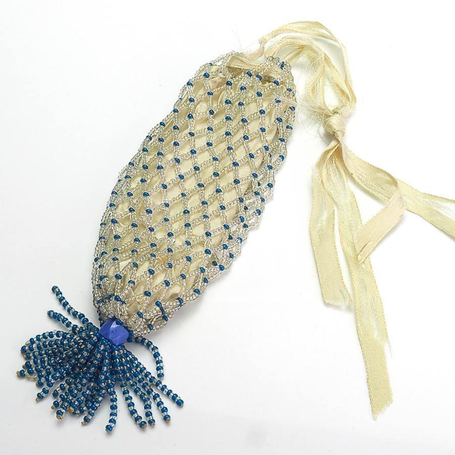 19th century made beaded doll s purse from vininghill